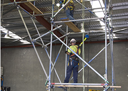 Scaffold training course