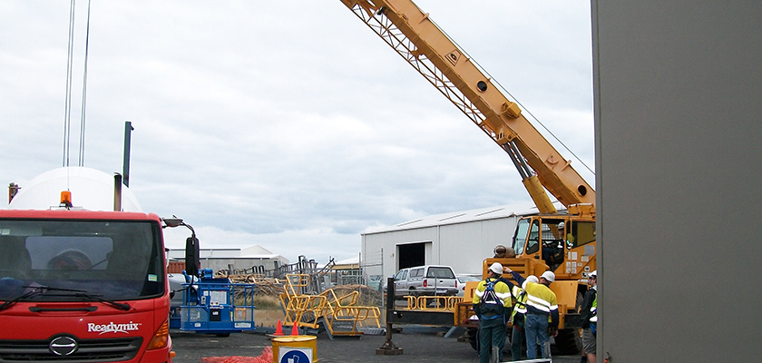 Overhead Cranes Perth : Licence to operate a vehicle loading crane tlilic
